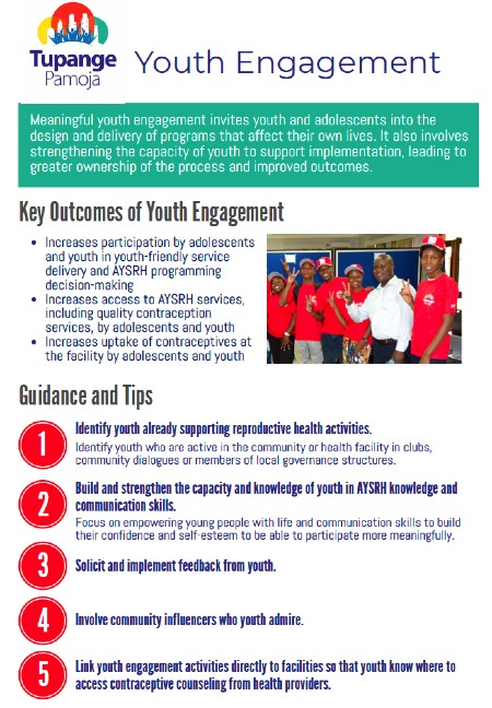 Youth Engagement Job Aid